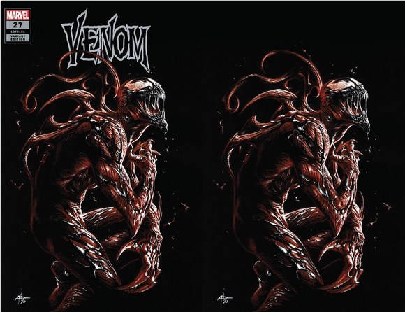 VENOM #27 GABRIELE DELL-OTTO Unknown Comics Exclusive 2-PACK SHIPS 08/12/2020 BACKISSUE