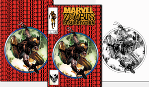 MARVEL ZOMBIES RESURRECTION #1 MICO SUAYAN EXCLUSIVE BUNDLE (9/2/2020) 3-PACK BACKISSUE