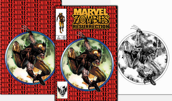 MARVEL ZOMBIES RESURRECTION #1 MICO SUAYAN EXCLUSIVE BUNDLE (9/2/2020) 3-PACK