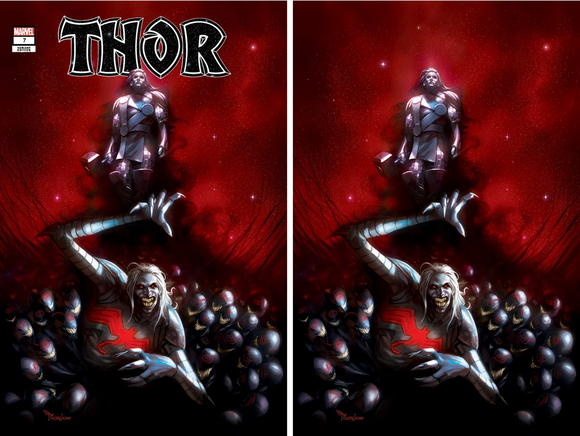 THOR #7 MERCADO EXCLUSIVE VARIANTBUNDLE (09/16/2020) 2-PACK BACKISSUE