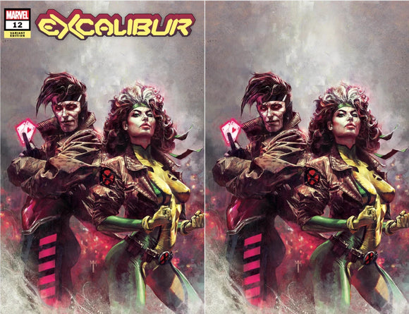 EXCALIBUR #12 MARCO MASTRAZZO ALLUMINATI EXCLUSIVE BUNDLE 09/16/2020 2-PACK BACKISSUE