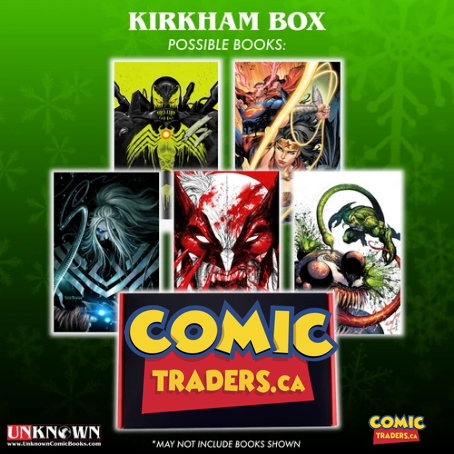 ARTIST BUNDLE TYLER KIRKHAM VIRGIN 5 PACK (11/11/2020)