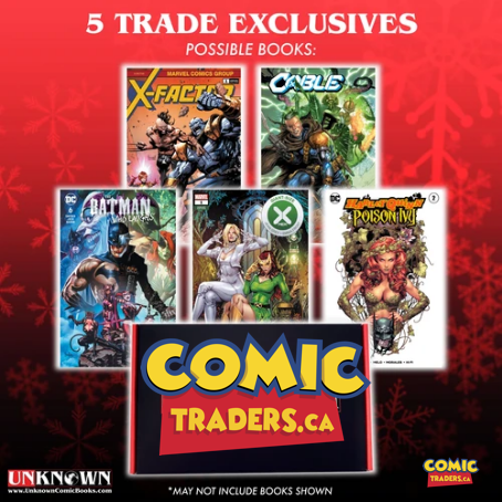 BLACK FRIDAY DOOR BUSTER MYSTERY 5 TRADE DRESS EXCLUSIVES (11/18/2020)
