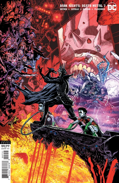 DARK NIGHTS DEATH METAL #7 (OF 7) INC 1:25 DOUG MAHNKE VAR (01/14/21) DELAYED (1/5/2021) NOW SHIPS (1/21/21)