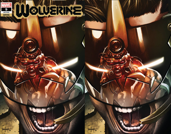 WOLVERINE #9 MICO SAUYAN UNKNOWN ILLUMINATI EXCLUSIVE BUNDLE (1/27/21) SHIPS (2/14/21) 2-PACK BACKISSUE