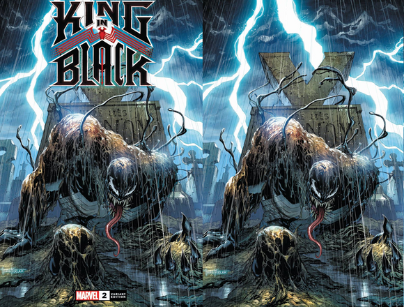 KING IN BLACK #2 (OF 5) TYLER KIRHAM UNKNOWN ILLUMINATI EXCLUSIVE BUNDLE (12/23/20) SHIPS (01/07/21) 2-PACK