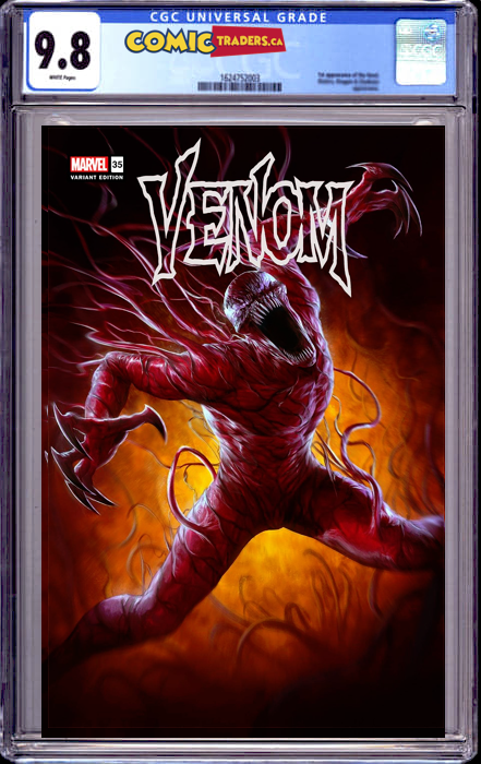 VENOM #35 DAVE RAPOZA ILLUMINIATI EXCLUSIVE 200TH ISSUE SHIPS (9/12/21) CGC 9.8