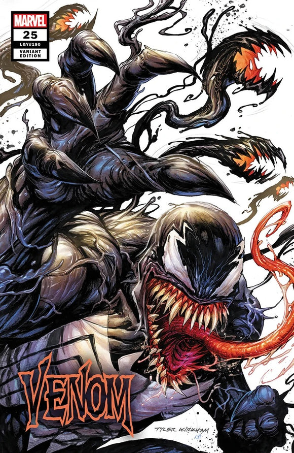 VENOM #25 UNKNOWN COMICS TYLER KIRKHAM EXCLUSIVE VAR (04/08/2020)