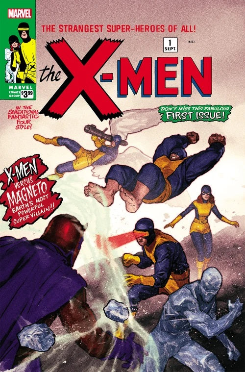 X-MEN #1 FACSIMILE EDITION EXCLUSIVE BACKISSUE