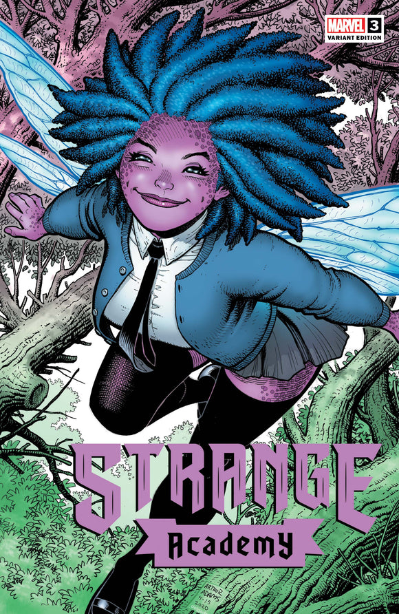 STRANGE ACADEMY #3 ADAMS CHARACTER SPOTLIGHT VAR (09/30/2020) BACKISSUE