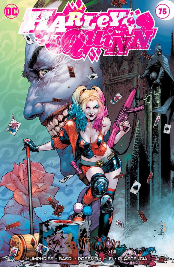 HARLEY QUINN #75 JAY ANCLETO EXCLUSIVE A 08/05/2020 BACKISSUE