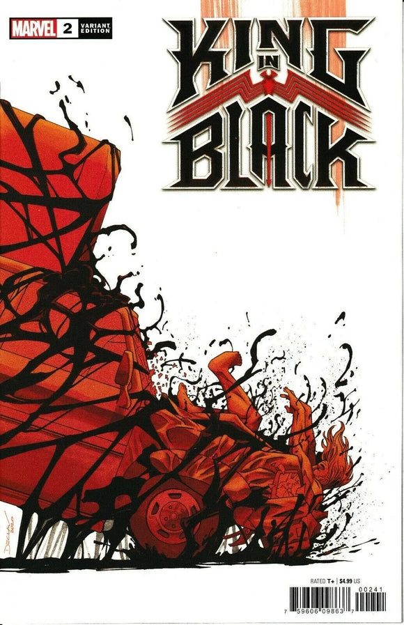 KING IN BLACK #2 (OF 5) SHALVEY SPOILER VAR  (12/23/20) BACKISSUE