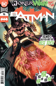 BATMAN #96 JOKER WAR CVR A 8/4/2020 BACKISSUE