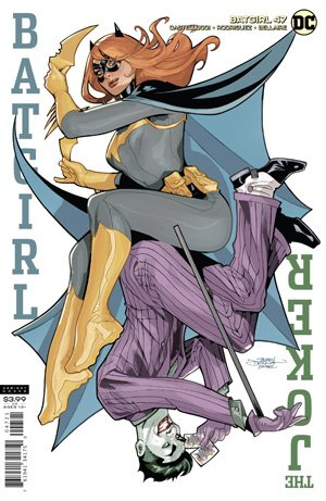 BATGIRL #47 T DODSON AND R DODSON VAR ED JOKER WAR  7/21/2020 BACKISSUE