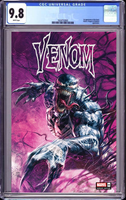 VENOM #35 MARCO MASTRAZZO ILLUMINIATI EXCLUSIVE 200TH ISSUE (10/09/2021) CGC 9.8