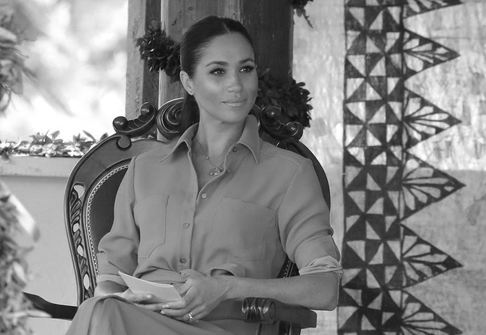 Meghan Markle revealed that she lost her second child. Meghan Markle / Pool-Getty Images
