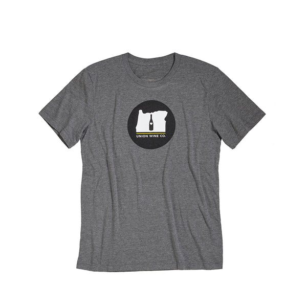 Union Wine Co. T-Shirt—Heather Grey