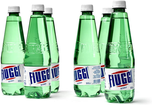 Fiuggi Water to Go. 0.5 Liter each (16.9 Fluid Ounce) 12 Bottles.