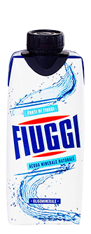 FIUGGI Italian Mineral Water Tetrapak carton boxes 330ml/11.2Oz.
