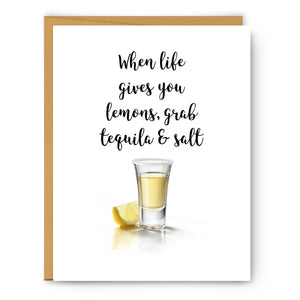 When life gives you lemons - Greeting Card