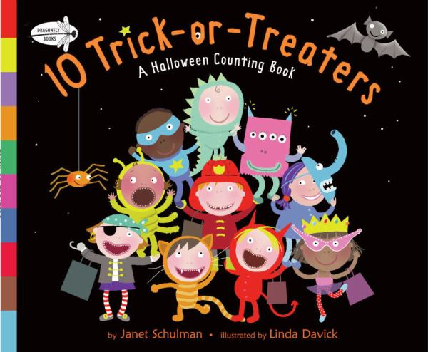 10 TRICK-OR-TREATERS: A HALLOWEEN COUNTING BOOK