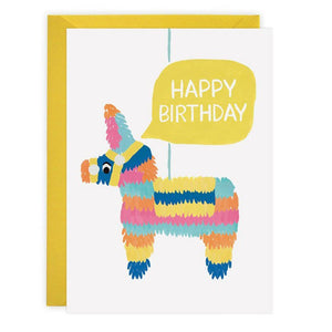 Piñata - Birthday Card