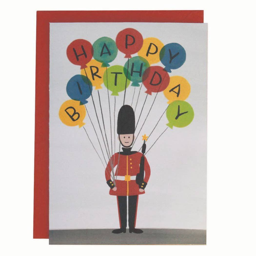 London Guard - Birthday Card