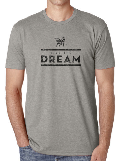 LIVE THE DREAM Short sleeve T-shirt