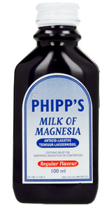 Phipp's Milk Of Magnesia Regular 100ml