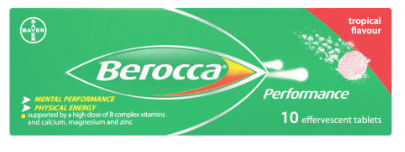 Berocca  Effervescent tablets Tropical