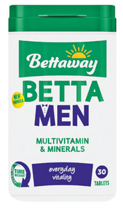 Bettaway For Men Multivitamin 30 Tablets