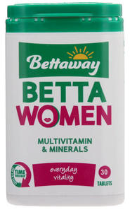 Bettaway For Women Multivitamin 30 Tablets