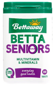 Bettaway For Seniors Multivitamin 30 Tablets
