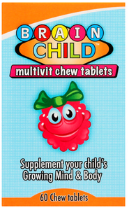 Brain Child Multivit 60 Chewable Tablets