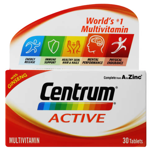 Centrum Active Multivitamin 30