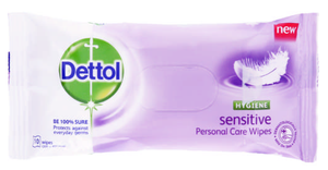 Dettol Hygiene Wipes Sensitive 40