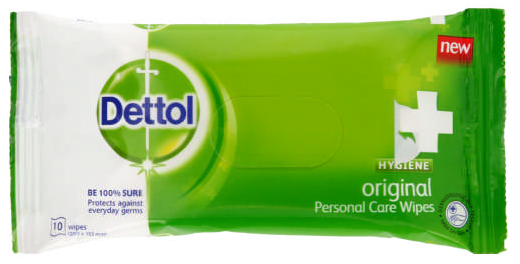 Dettol Hygiene Wipes Original 40