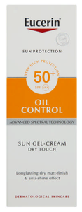Eucerin Sun SPF50+ Gel-Creme Oil Control Dry Touch