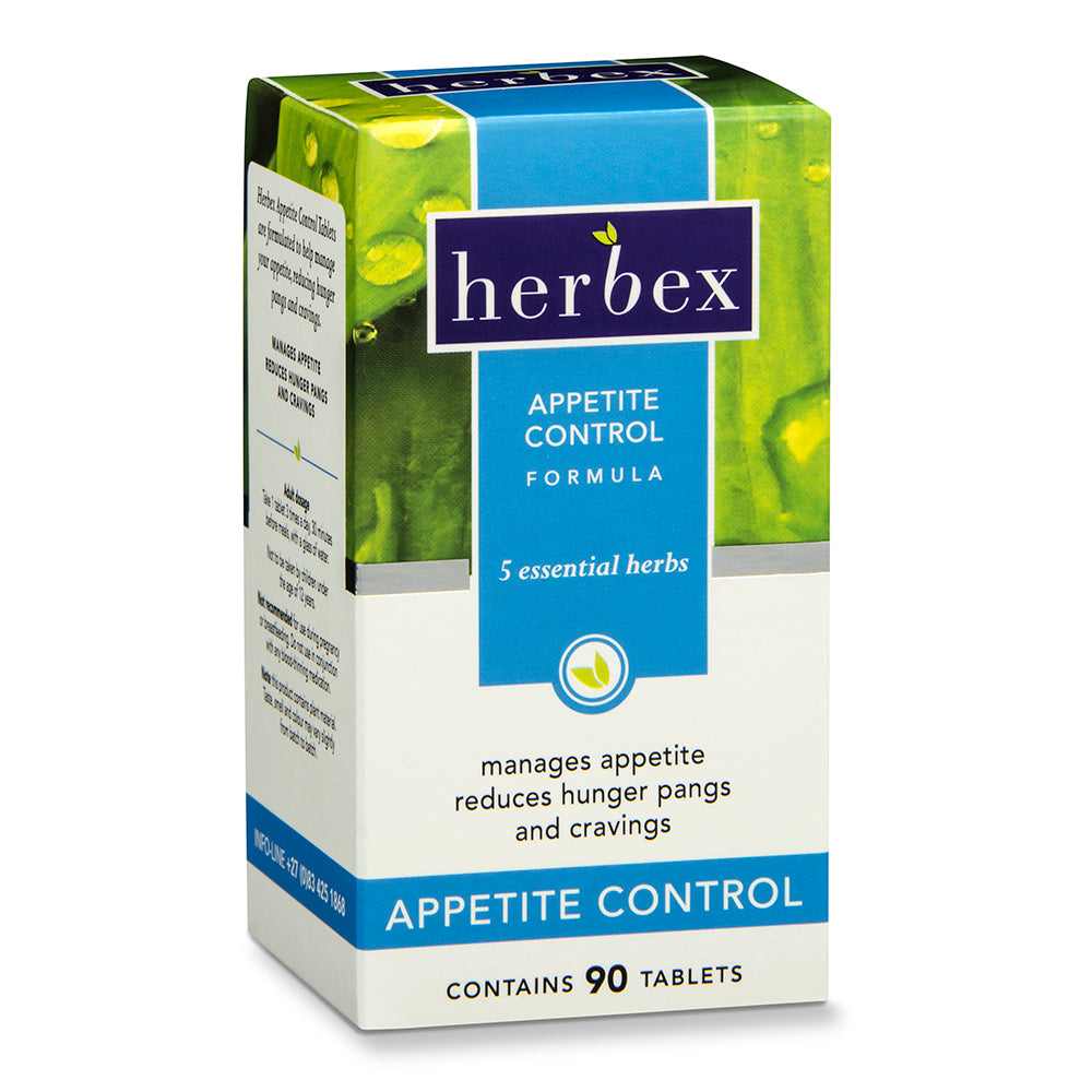 Herbex Appetite Control Tablets – 90's