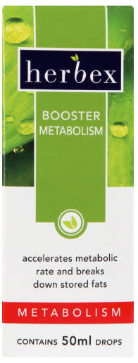 Herbex Booster Metabolism Drops 50ml