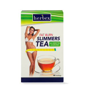 Herbex Slimmers Fat Burn Tea – 40s