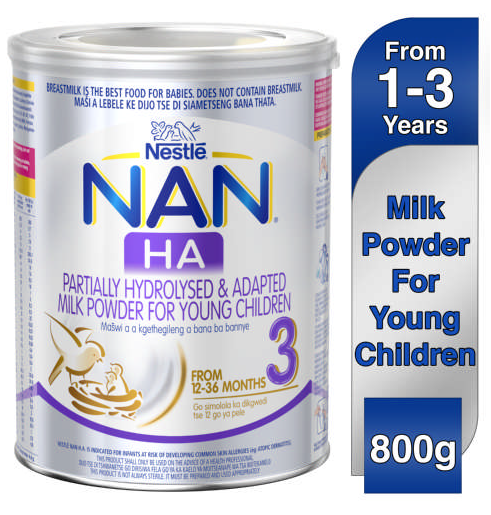 Nestle Nan Stage 3 Optipro H.A For Young Children 800g