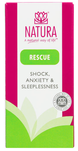 Natura Rescue Shock, Anxiety & Sleeplessness Tablets