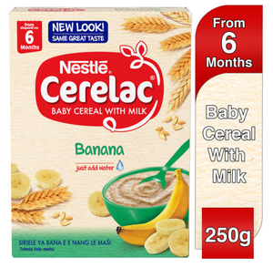 Nestle Cerelac Baby Cereal With Milk Banana 250g