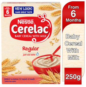 Nestle Cerelac Baby Cereal With Milk Regular 250g