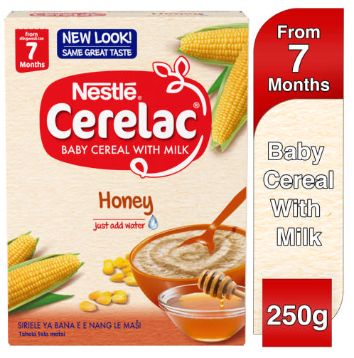 Nestle Cerelac Baby Cereal With Milk Honey 250g
