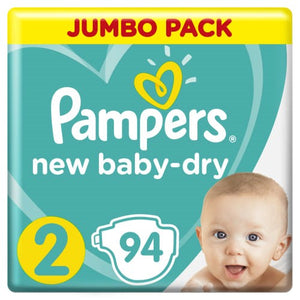 Pampers New Baby Mini Giant Pack Single100's