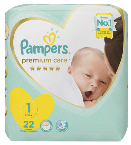 Pampers Premium Care Size 1