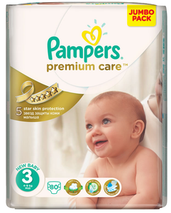 Pampers Premium Care Midi 80's