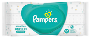 Pampers Sensitive Baby Wipes 56 Wipes